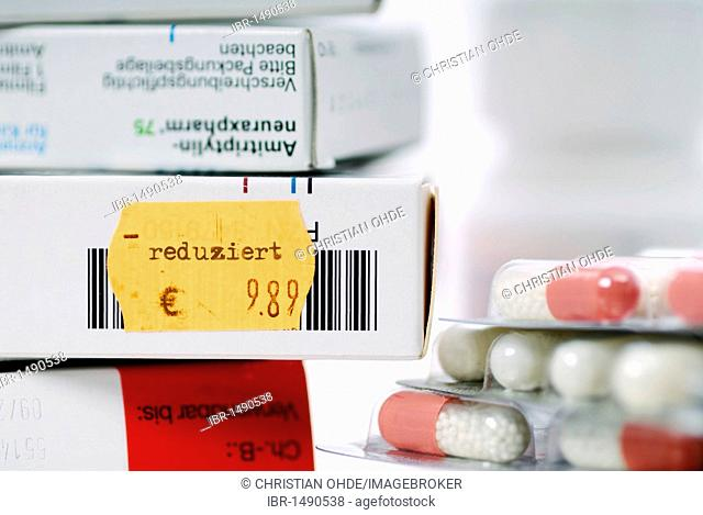 Price fall of medication
