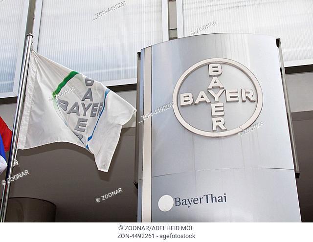 Bayer Niederlassung in Bangkok, Thailand, Südostasien Bayer branch in Bangkok, Thailand, Southeast Asia