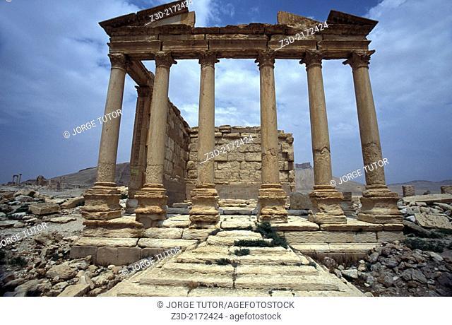 Funerary temple, Palmyra. Syria