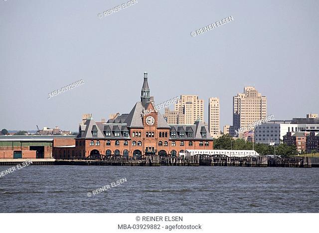 usa, Hudson River, New Jersey