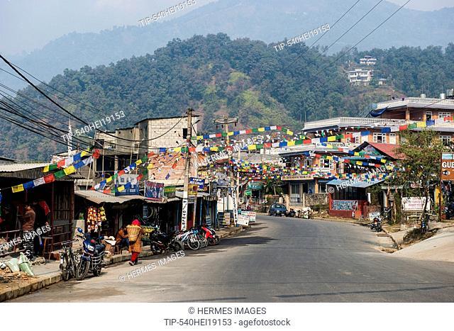 Nepal, Pokhara, daily life