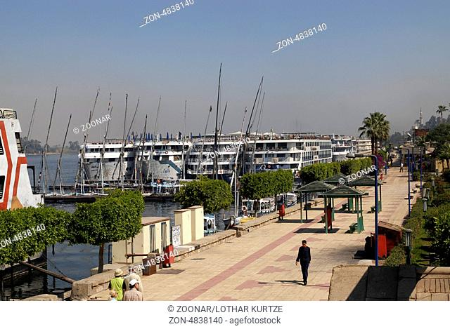 Luxor water front, Egypt