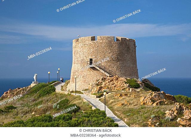 Torre Longosardo in Santa Teresa di Gallura, North sardinia, Sardinia, Italy