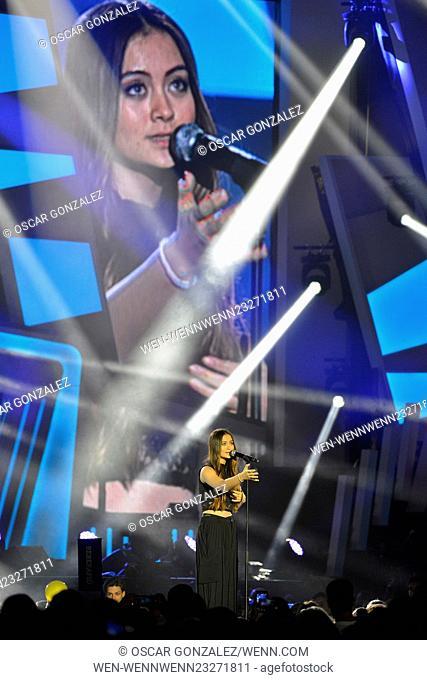 English singer Jasmine Thompson at the 40 Principales Gala Awards Featuring: Jasmine Thompson Where: Madrid, Spain When: 11 Dec 2015 Credit: Oscar Gonzalez/WENN