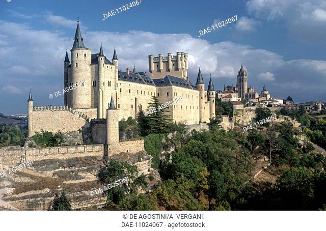 The Alcazar of Segovia (Segovia castle) (UNESCO World Heritage List, 1985), Castile and Leon. Spain, 11th-19th century