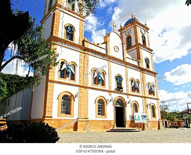 sao francisco do sul church building at santa catarina