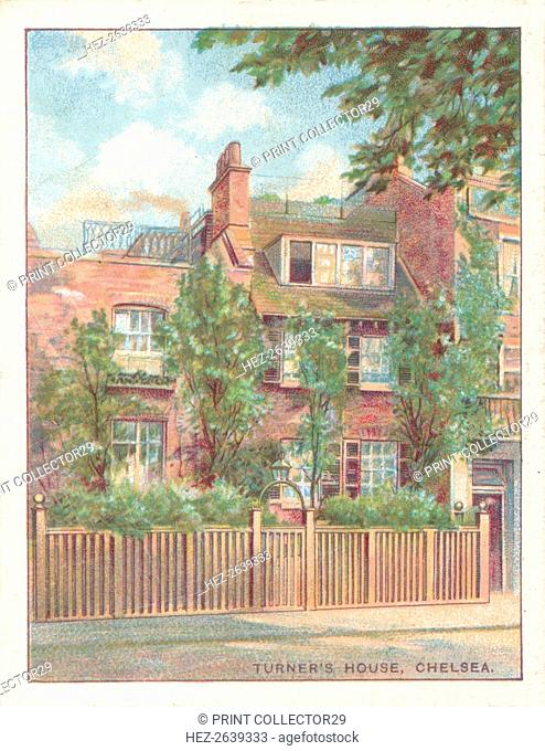 'Turner's House, Chelsea', 1929. Artist: Unknown