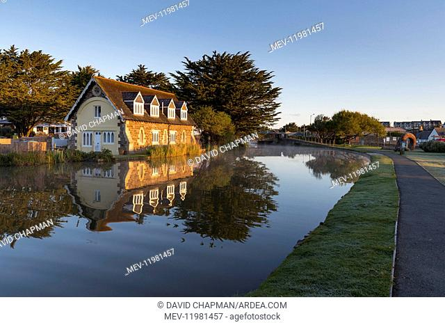 Bude Canal - Early Morning - Cornwall - UK