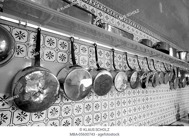 Kitchen in the Fondation Claude Monet