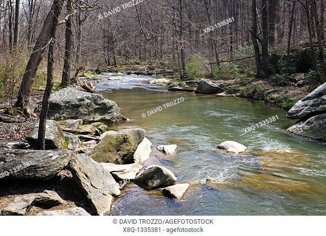 Little Falls River, Parkton, Maryland USA