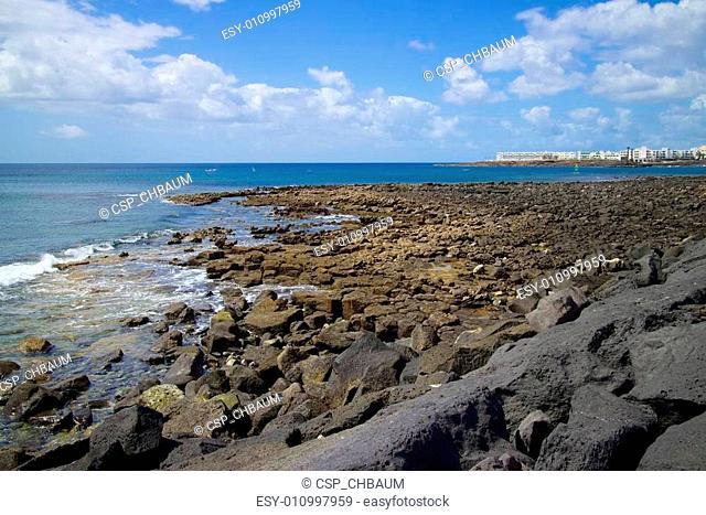 Lanzarote Rocky Beach Scene 009