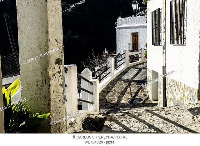 Village of Pampaneira, La Alpujarra, Andalusia, Spain