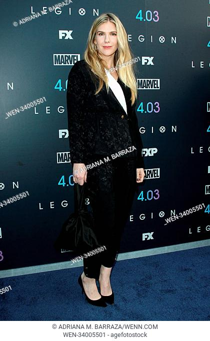 FX's 'Legion' Season Two Premiere held at the DGA Theatre in Los Angeles, California. Featuring: Lily Rabe Where: Los Angeles, California