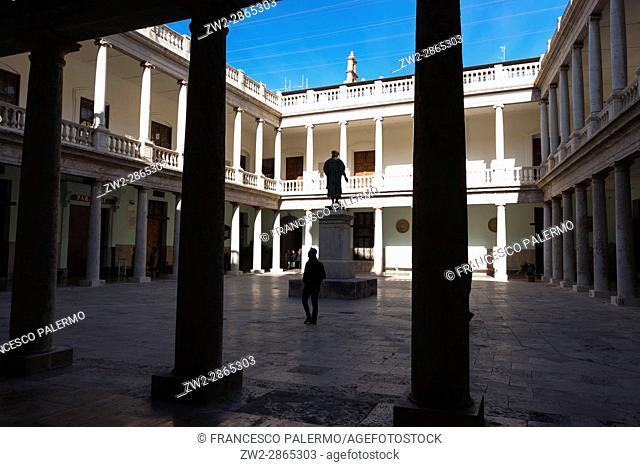 Valencia University of History Library. Valencia, Spain