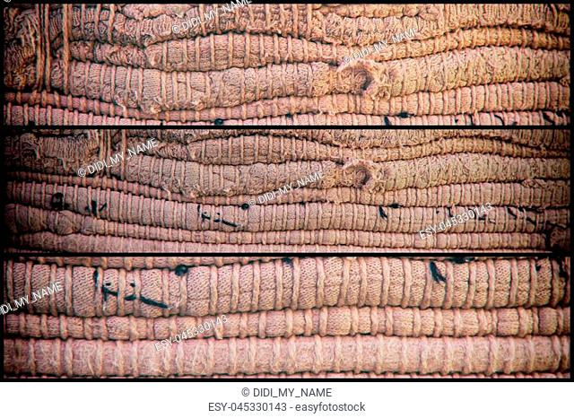 High detailed textile texture as background, fabric surface for web site or mobile devices