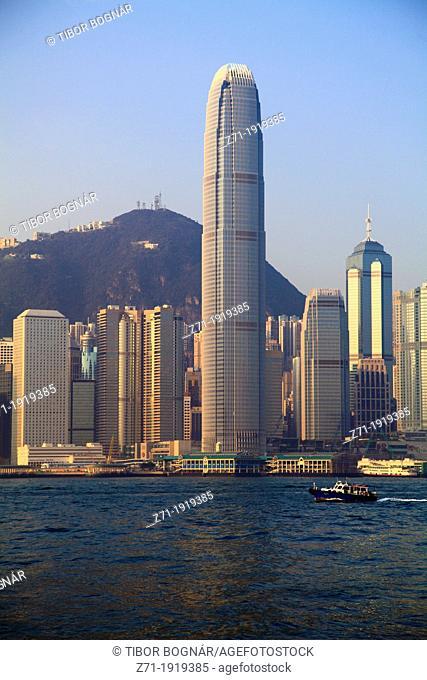 China, Hong Kong, Central District, skyline