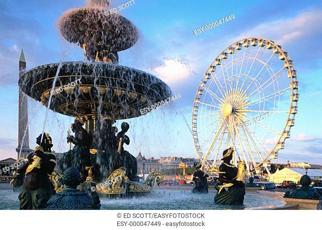 Place de la Concorde. Paris. France