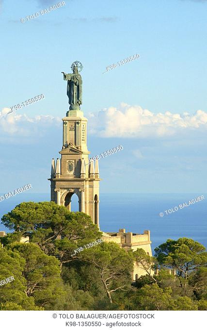 Sanctuary of Sant Salvador, Felanitx Mallorca, Balearic Islands, Spain