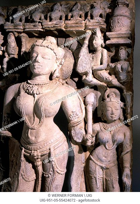 Rare depiction of Tara, Bodhisattva of compassion
