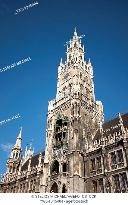 New City HallNeues Rathaus in Marienplatz,Munich
