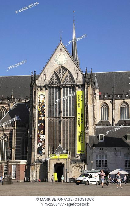 Nieuwe Kerk Church Dam Square Amsterdam Holland