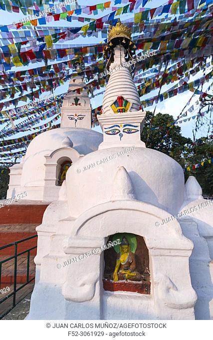 Swayambhunath Stupa, Kathmandu Valley, Nepal, Asia, Unesco World Heritage Site
