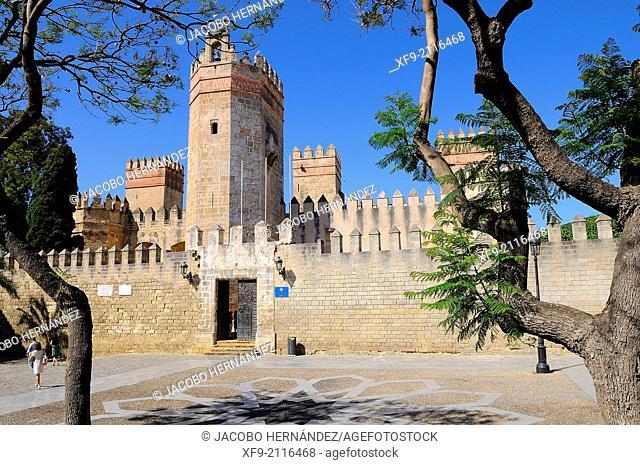 Castle of San Marcos.Puerto de Santa María.Cádiz province.Andalusia.Spain