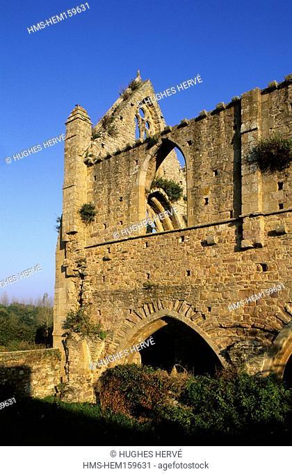 France, Côtes d'Armor, Paimpol, Beauport abbey