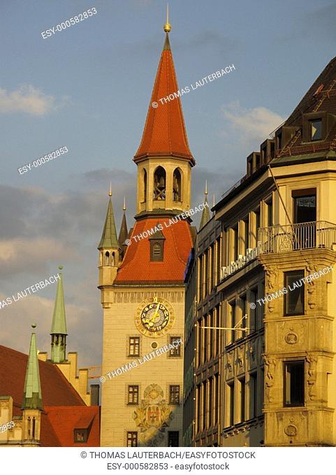 Altes Rathaus, Marienplatz, Munich