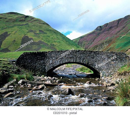 Old bridge near Moffat. Dunfries and Galloway. Scotland