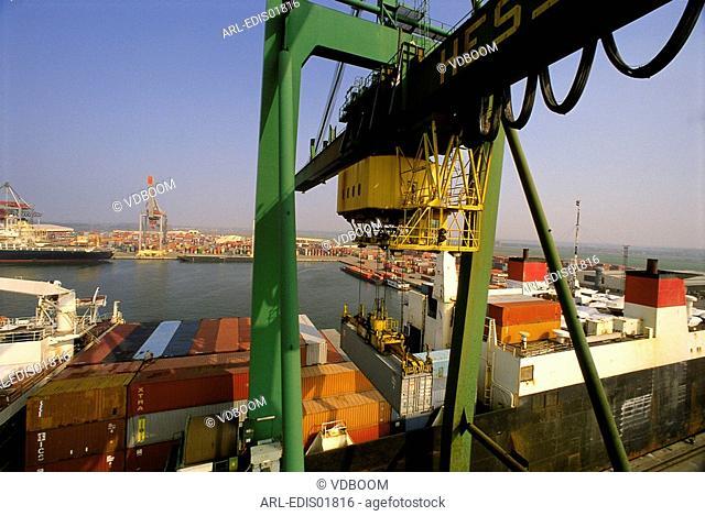 Port of Antwerp Belgium