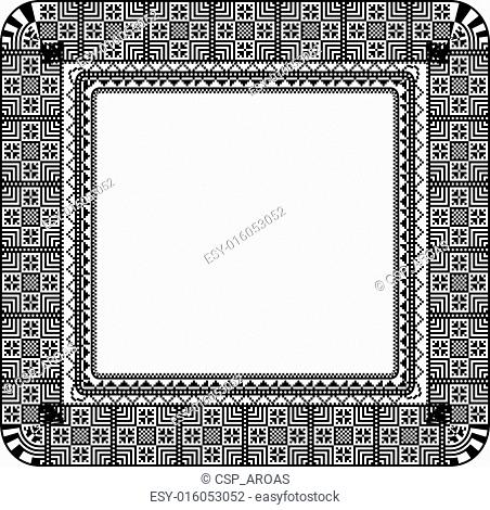 Abstract ancient background, Vector