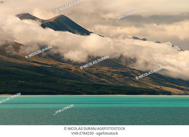 Pukaki Lake. South Island. New Zealand