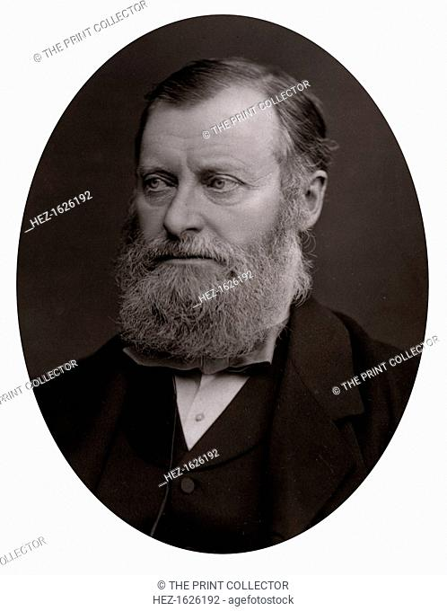 William Edward Forster (1818-1886), late 19th century. Forster was a British industrialist, philanthropist, Liberal Party statesman and member of parliament for...