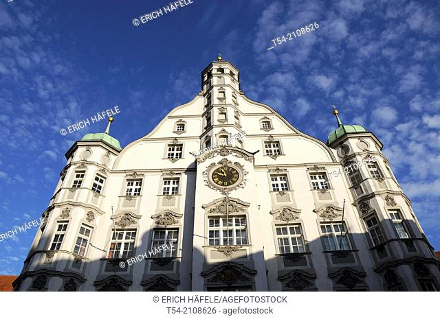 The town hall in Memmingen / Germany