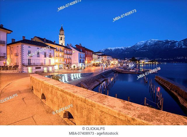Along the way to Ascona, Lago Maggiore, Canton Ticino, Switzerland, Europe