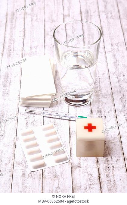 Grip, medicine, health, tablets