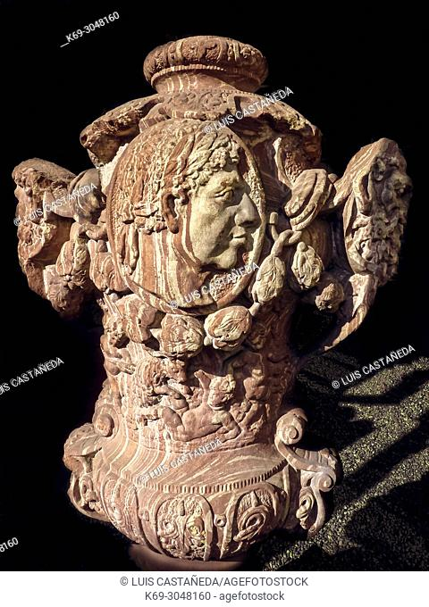 Old Roman Sculpture found in Germania, Frankfurt am Main, Germany