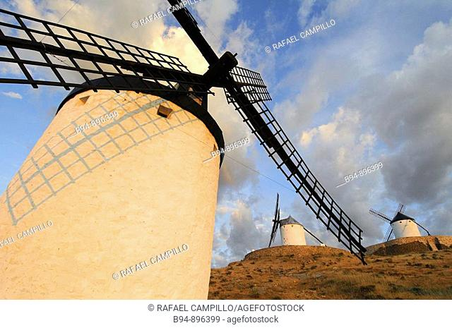 Windmills, La Mancha, Spain