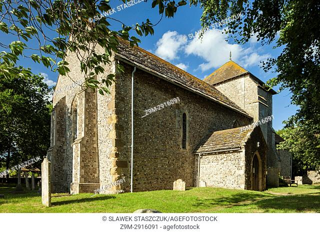 St Julian's church in Shoreham-by-Sea, West Sussex, England