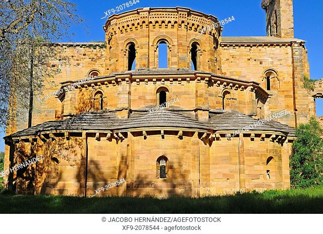 Romanesque church of Santa Maria in Moreruela. Zamora province. Castilla y Leon. Spain