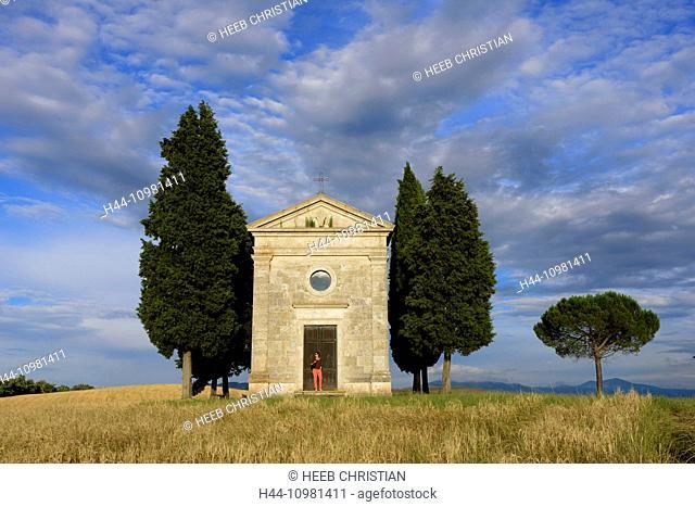 Capella de Vitaleta in Pienza