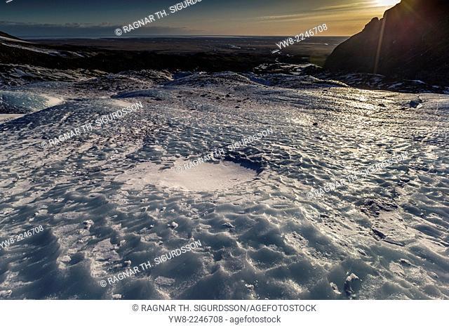 Fallsjokull Glacier, Eastern Iceland