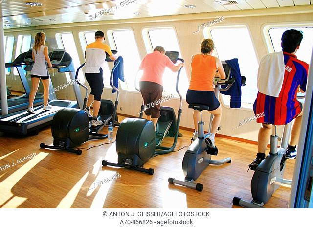 Fitnessraum Coral, Louis Cruise LINEs, Limassol