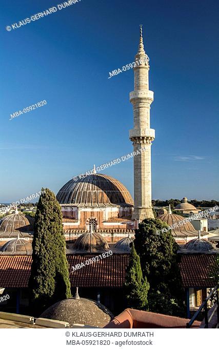 Rhodes, Suleymaniye Mosque