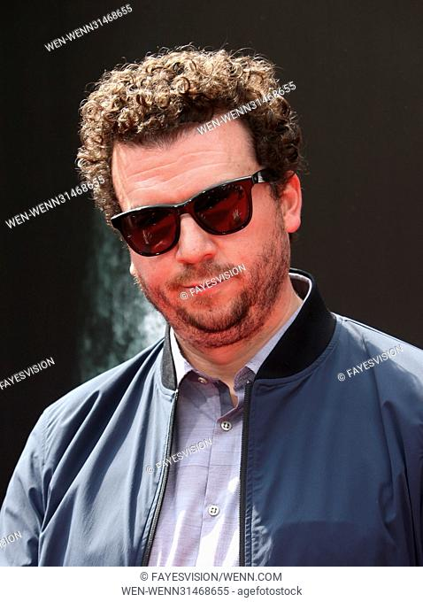 Sir Ridley Scott Hand and Footprint Ceremony Featuring: Danny McBride Where: Hollywood, California, United States When: 18 May 2017 Credit: FayesVision/WENN