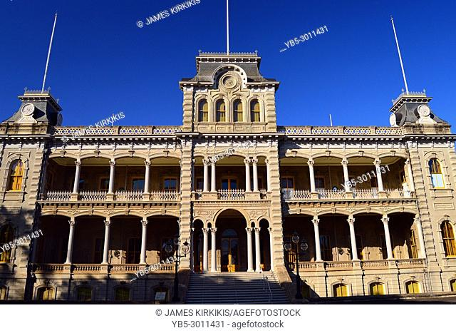 The Iolani Palace in Honolulu is said to be the only authentic royal palace in the United States