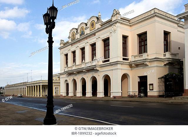 Teatro Tomas Terry theatre, Cienfuegos, Unesco World Heritage Site, Cuba