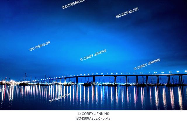 San Diego–Coronado Bridge, San Diego, California, USA