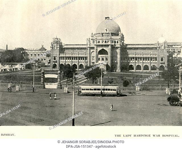 Old Vintage 1900s Prince of Wales Museum Bombay Mumbai Maharashtra India